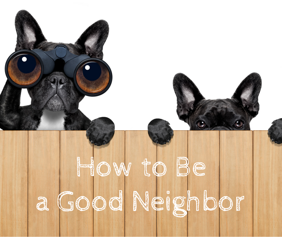 How to Be a Good Neighbor | Erie Station Village Townhouses