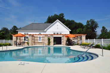 Beautiful in-ground heated pool.