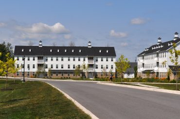 The Gable Buildings were the first in Phase III to welcome residents.