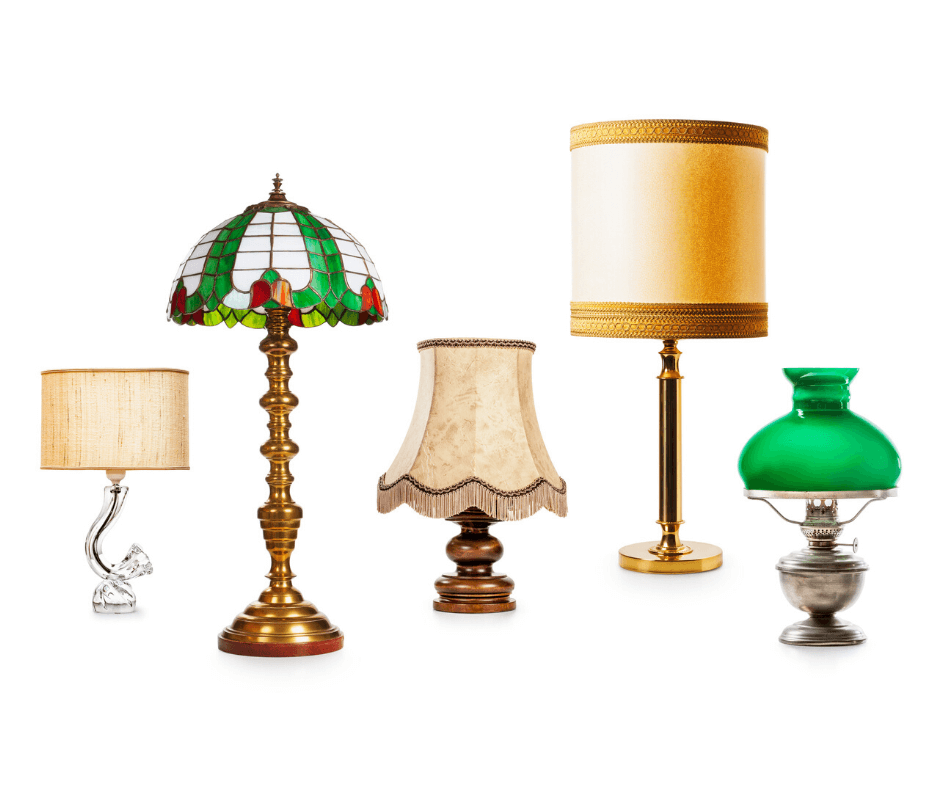 Lamps of different style