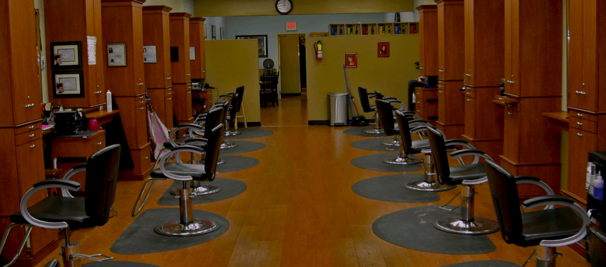Encore Salon interior